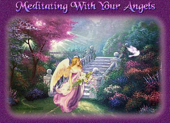 ANGELI PODPIRAJO MOJE MEDITACIJE