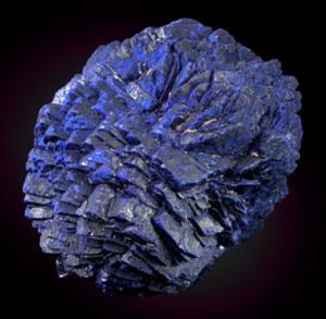 AZURIT- kristal èela BARVA: azurno modra Najdišèa: Maroko, Arizona in ZDA, Schwarzwald.